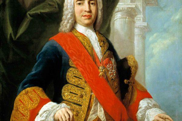 Retrato de Zenón de Somodevilla y Bengoechea, marqués de la Ensenada.
